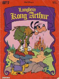 Cover Thumbnail for Langbein album (Hjemmet / Egmont, 1977 series) #7 - Langbein Kong Arthur