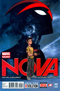 Cover Thumbnail for Nova (Marvel, 2013 series) #2 [2nd Printing]