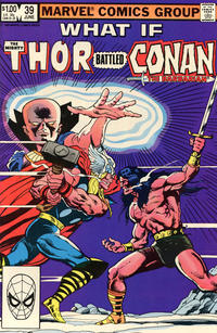 Cover Thumbnail for What If? (Marvel, 1977 series) #39 [Direct]