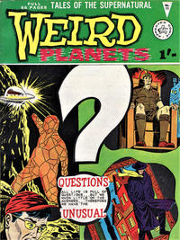 Cover Thumbnail for Weird Planets (Alan Class, 1962 series) #11