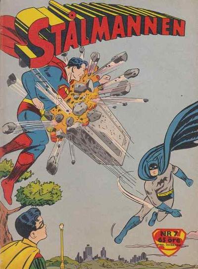Cover for Stålmannen (Centerförlaget, 1949 series) #7/1960