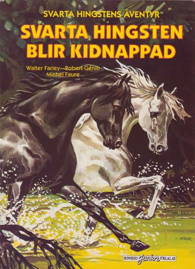 Cover for Svarta Hingstens äventyr (Bonniers, 1983 series) #5 - Svarta Hingsten blir kidnappad