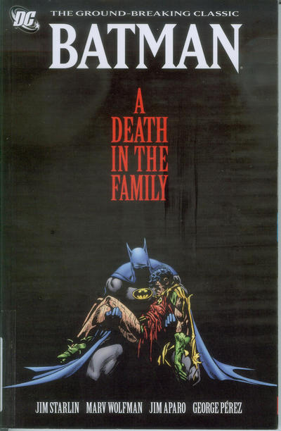 Cover for Batman: A Death in the Family (DC, 2011 series)