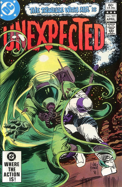Cover for The Unexpected (DC, 1968 series) #221 [Newsstand]