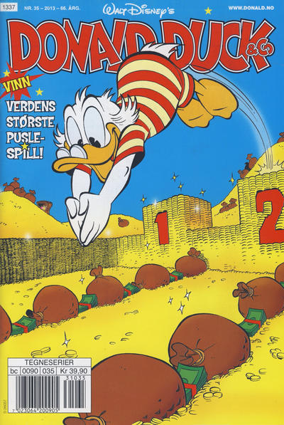 Cover for Donald Duck & Co (Hjemmet / Egmont, 1948 series) #35/2013