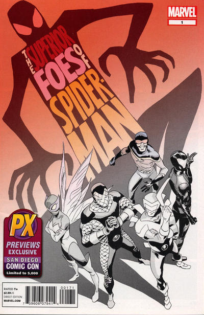 Cover for The Superior Foes of Spider-Man (Marvel, 2013 series) #1 [Blank Variant]