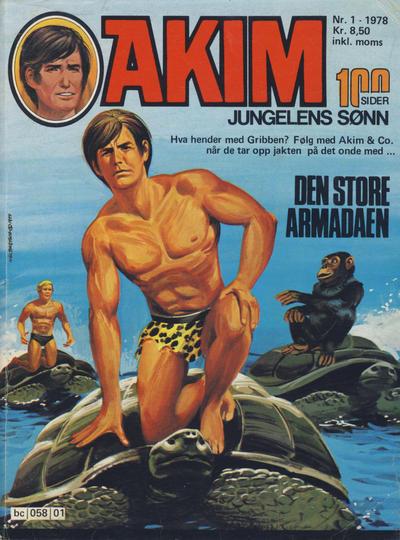 Cover for Akim (Semic, 1977 series) #1/1978