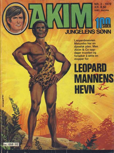 Cover for Akim (Semic, 1977 series) #2/1978
