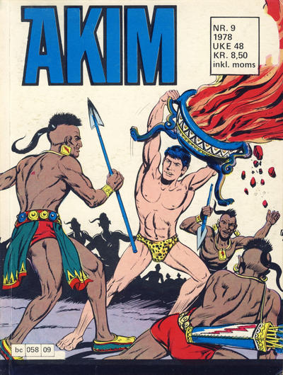 Cover for Akim (Semic, 1977 series) #9/1978