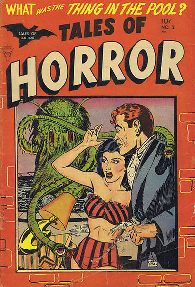Cover for Tales of Horror (Superior, 1952 series) #2