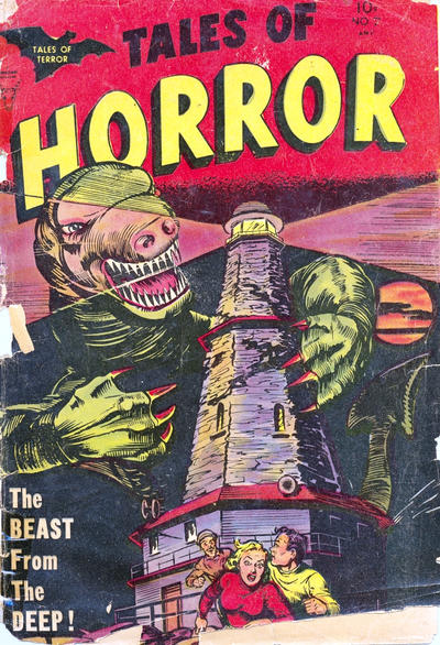 Cover for Tales of Horror (Superior, 1952 series) #7