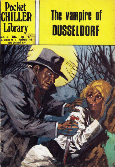 Cover for Pocket Chiller Library (Thorpe & Porter, 1971 series) #5