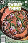 Cover for The Saga of Swamp Thing (DC, 1982 series) #29 [Newsstand]