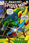 Cover for The Amazing Spider-Man (Marvel, 1963 series) #93 [British]