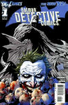 Cover for Detective Comics (DC, 2011 series) #1 [5th Printing - Blue Bat Logo]