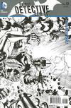 Cover for Detective Comics (DC, 2011 series) #12 [Tony S. Daniel / Sandu Florea Black & White Wraparound Cover]