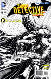 Cover for Detective Comics (DC, 2011 series) #18 [Jason Fabok Black & White Cover]