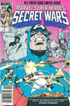 Cover Thumbnail for Marvel Super-Heroes Secret Wars (1984 series) #7 [Newsstand Edition]