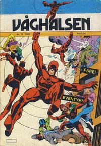 Cover Thumbnail for Våghalsen (Atlantic Forlag, 1982 series) #10/1982