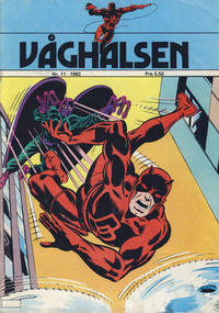 Cover Thumbnail for Våghalsen (Atlantic Forlag, 1982 series) #11/1982