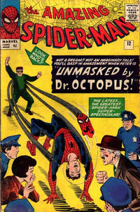 Cover Thumbnail for The Amazing Spider-Man (Marvel, 1963 series) #12 [British]