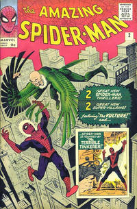 Cover Thumbnail for The Amazing Spider-Man (Marvel, 1963 series) #2 [British]