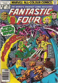 Cover Thumbnail for Fantastic Four (Marvel, 1961 series) #186 [British]