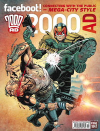 Cover Thumbnail for 2000 AD (Rebellion, 2001 series) #1847