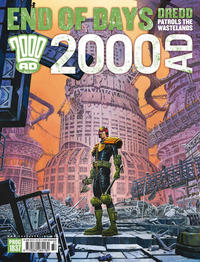Cover Thumbnail for 2000 AD (Rebellion, 2001 series) #1837
