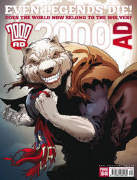 Cover Thumbnail for 2000 AD (Rebellion, 2001 series) #1840