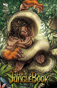 Cover Thumbnail for Grimm Fairy Tales Presents The Jungle Book (Zenescope Entertainment, 2012 series) #4