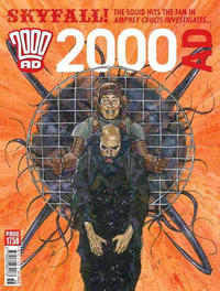 Cover Thumbnail for 2000 AD (Rebellion, 2001 series) #1758