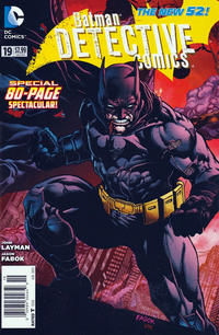 Cover Thumbnail for Detective Comics (DC, 2011 series) #19 [Newsstand]
