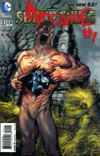 Cover Thumbnail for Swamp Thing (DC, 2011 series) #23.1 [3-D Motion Cover]