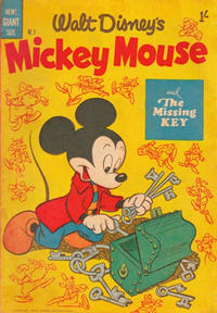 Cover Thumbnail for Walt Disney's Mickey Mouse (W. G. Publications; Wogan Publications, 1956 series) #1