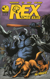Cover Thumbnail for Rex Zombie Killer (Big Dog Ink, 2012 series) #1
