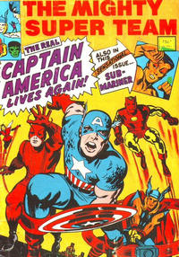 Cover Thumbnail for The Mighty Super Team (Yaffa / Page, 1974 ? series)