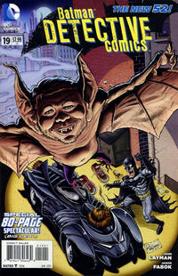 Cover Thumbnail for Detective Comics (DC, 2011 series) #19 [MAD Magazine Cover]