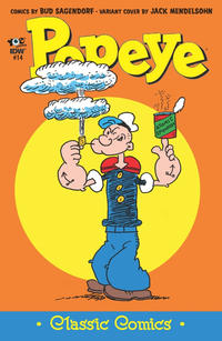 Cover Thumbnail for Classic Popeye (IDW, 2012 series) #14 [1 in 10 Variant Cover]