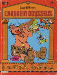 Cover Thumbnail for Langbein album (Hjemmet / Egmont, 1977 series) #8 - Langbein Odyssevs