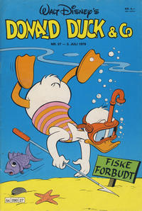 Cover Thumbnail for Donald Duck & Co (Hjemmet / Egmont, 1948 series) #27/1979
