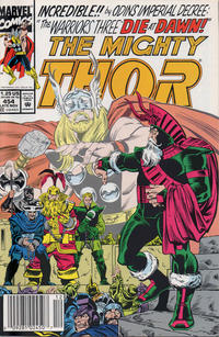 Cover Thumbnail for Thor (Marvel, 1966 series) #454 [Newsstand]
