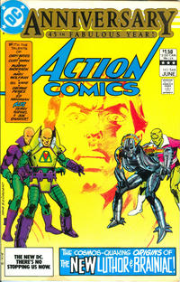 Cover Thumbnail for Action Comics (DC, 1938 series) #544 [Direct]