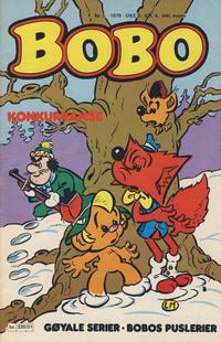 Cover Thumbnail for Bobo (Semic, 1978 series) #1/1979
