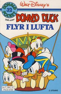 Cover Thumbnail for Donald Pocket (Hjemmet / Egmont, 1968 series) #32 - Donald Duck flyr i lufta [2. opplag]