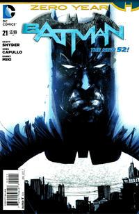 Cover Thumbnail for Batman (DC, 2011 series) #21 [Jock Cover]