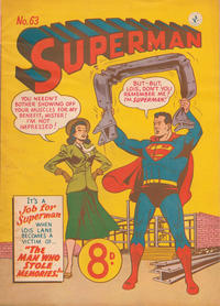 Cover Thumbnail for Superman (K. G. Murray, 1947 series) #63