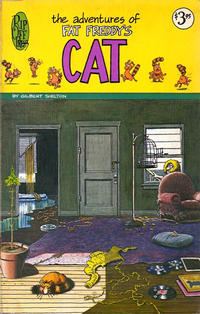Cover Thumbnail for The Adventures of Fat Freddy's Cat (Rip Off Press, 1977 series) #[nn] [3.95 USD 1st print]