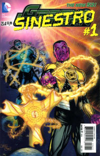 Cover Thumbnail for Green Lantern (DC, 2011 series) #23.4 [3-D Motion Cover]