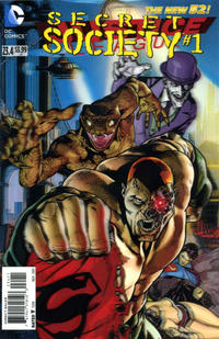 Cover Thumbnail for Justice League (DC, 2011 series) #23.4 [3-D Motion Cover]
